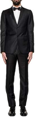 Gucci Black Monaco Wool 2 Piece Suit