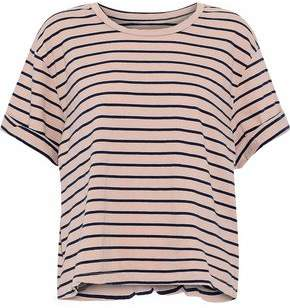 Current/Elliott The Sailor Striped Cotton-Jersey T-Shirt