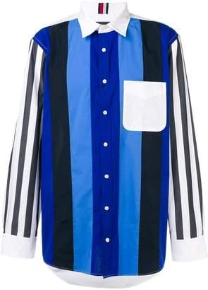 Tommy Hilfiger striped button shirt
