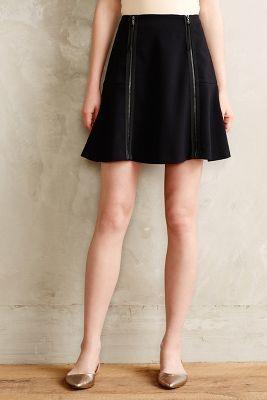 Leifsdottir Zipped Swing Skirt