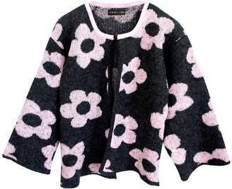 emmi LDN - Flora Jacket Charcoal & Pink Lemonade