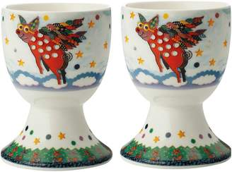 Maxwell & Williams Smile Style Pigasus Egg Cup (Set of 2)