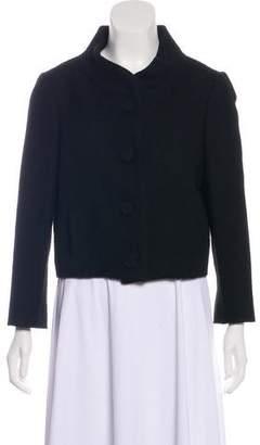 Ralph Lauren Black Label Cropped Dress Blazer