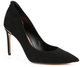 46816586a319e Next Womens Ted Baker Black Savio Suede Court Shoe