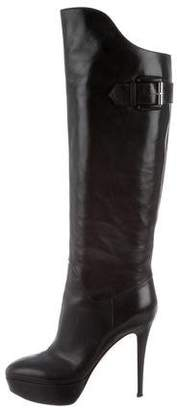Gianvito Rossi Platform Knee-High Boots