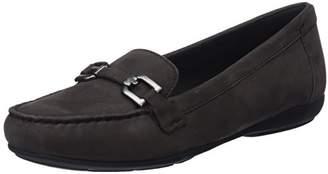 Geox Women's Annytah 1 Suede Bit Loafer Flat