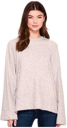 Splendid Sidelight Cowl Neck Hoodie Women's Sweatshirt
