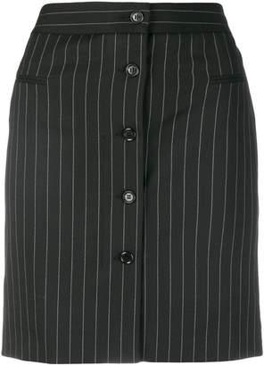 Moschino pinstripe mini skirt