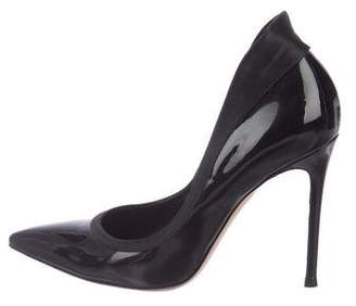 Gianvito Rossi Patent High-Heel Pumps