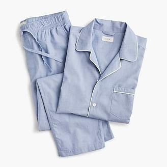 J.Crew Cotton poplin pajama set