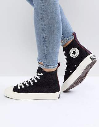 Converse Chuck Taylor All Star '70 High Top Trainers In Black