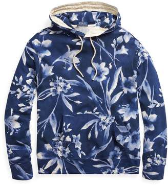 Ralph Lauren Floral Cotton Spa Terry Hoodie