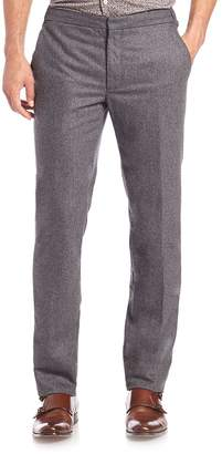 SLOWEAR Men's Washed Slim Straight-Leg Pants