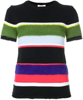 Enfold striped knit T-shirt