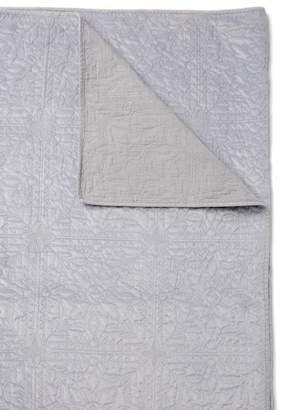 Nordstrom Grey Dapple Washed King Velvet Quilt
