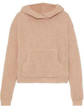 Nanushka Brushed Open-knit Hooded Sweater