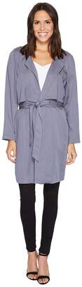 Nic+Zoe Twilight Trench Jacket Women's Coat