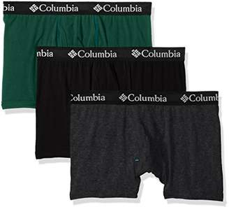 Columbia Men's Cotton Stretch 3 PK Trunk