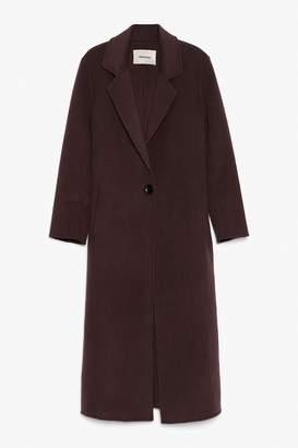 Genuine People Wool Maxi Coat