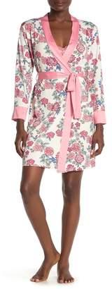 Tahari Floral Robe & Chemise 2-Piece Set