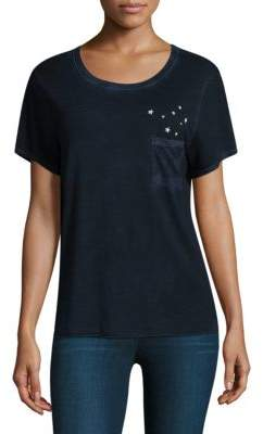 Feel The Piece Gabels Stars Pocket Tee