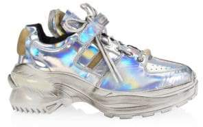 Maison Margiela Artisanal Holographic Chunky Sneakers