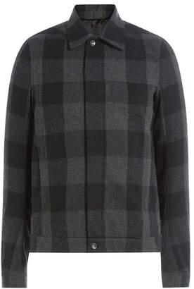 Rick Owens Checked Wool Jacket