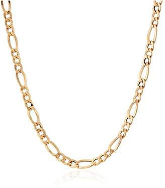 3.1 Phillip Lim 14k Gold Italian 3+1 Figaro Link Chain Necklace