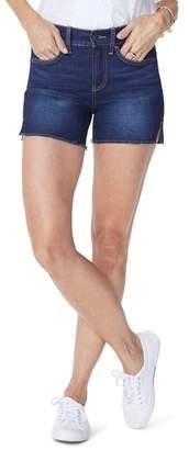NYDJ Side Slit Denim Shorts
