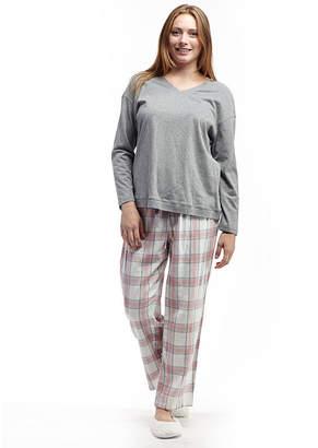 5eb87cb884 Flannel Pajama Top - ShopStyle