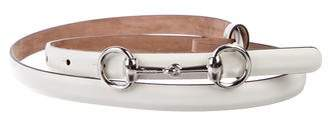 Gucci Horsebit Skinny Belt