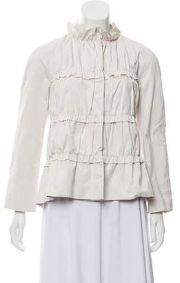 Moncler Tiered Button-Up Jacket