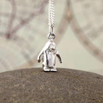 Original Penguin Nicola Hurst Designer Jewellery Solid Silver Pendant