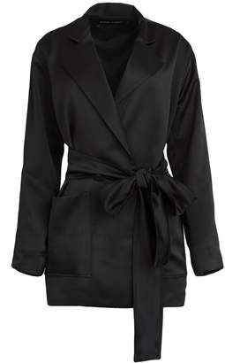 Michael Lo Sordo Wrap Jacket With Pockets