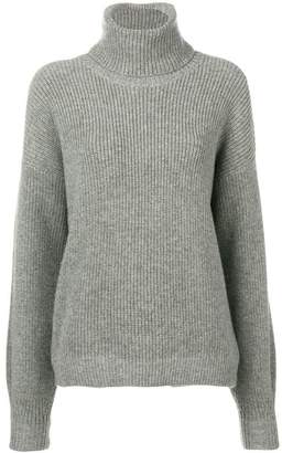 Tory Burch knitted roll neck jumper