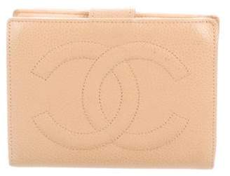 Chanel Caviar Timeless French Purse Wallet Tan Caviar Timeless French Purse Wallet