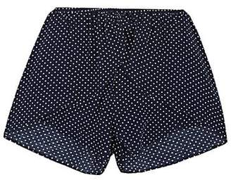 Little Remix KIDS' DOT-PRINT SHORTS - BLUE SIZE 6 YRS