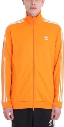 adidas Orange Cotton Sweatshirt