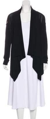 Donna Karan Knit Open-Front Cardigan