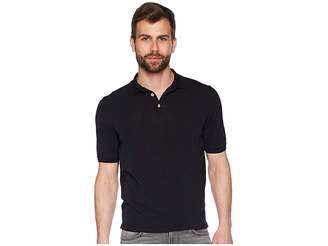 Eleventy Fresco Cotton Polo Men's Short Sleeve Pullover