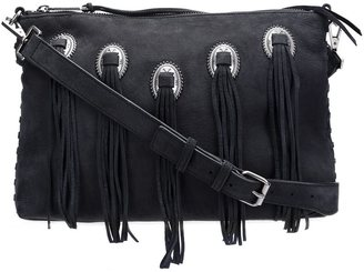 Rebecca Minkoff fringed cross-body bag $245 thestylecure.com