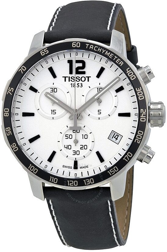 Tissot Quickster Soccer World Cup White Dial Men's Watch