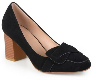 Women's Journee Collection Cass Vintage Mid Heel Loafer Pumps $32.99 thestylecure.com