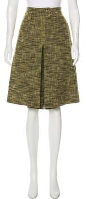 RED Valentino Pleated Tweed Shorts