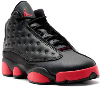 Nike Jordan Kids Air Jordan 13 Retro BG Black Gym Red Basketball Shoe Kids US
