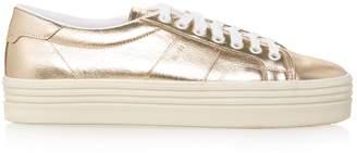 Saint Laurent Court Classic Metallic Platform Sneakers