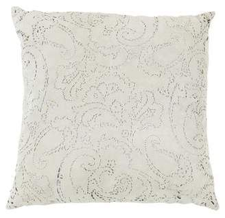 Ralph Lauren Cut Suede Throw Pillow