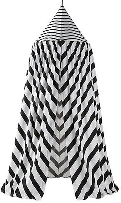 Black and White Playhouse Canopy $159 thestylecure.com