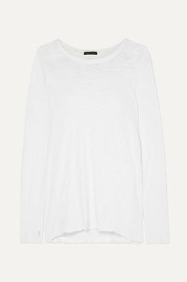 ATM Anthony Thomas Melillo Slub Cotton-jersey T-shirt - White