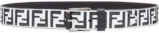 Fendi double F logo belt